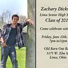 Celebrate Zac Invite