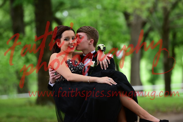Zayda & Dylon  prom  042316