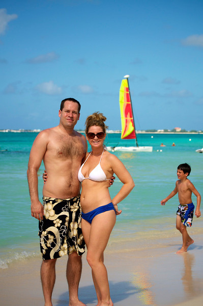 Michelle and Nick, Grand Cayman