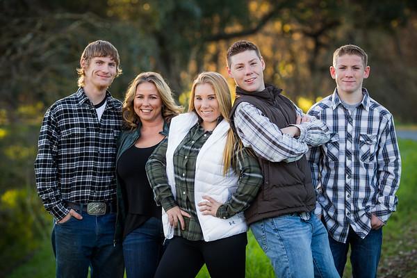 Jamie Zivney Family Jan 2017