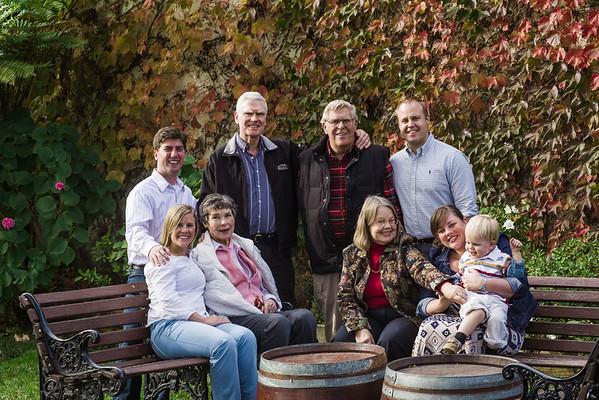Sarah Pinto and family