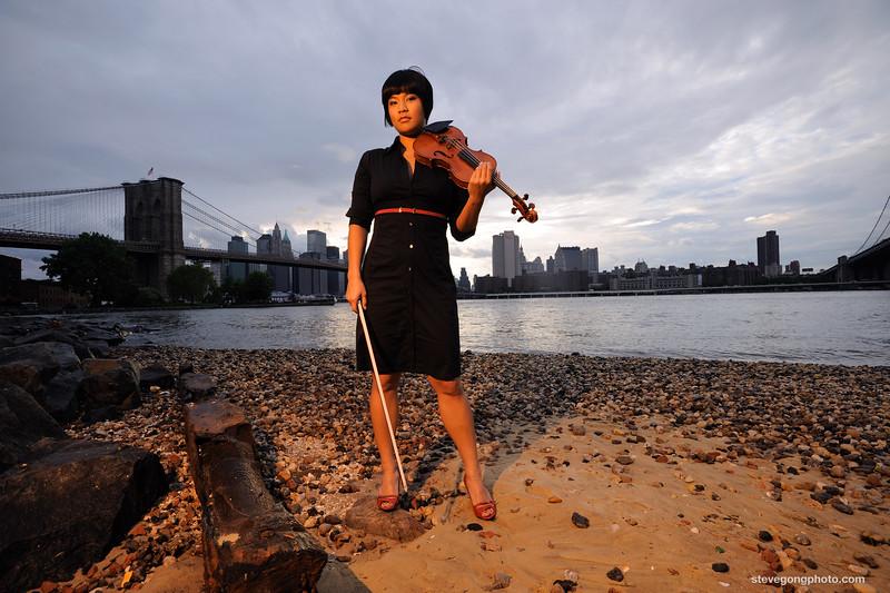 Yuki Numata, Violinist