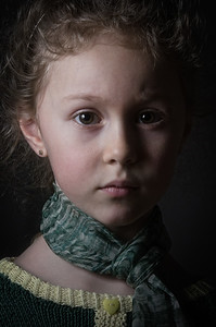 Portraid of a little girl
