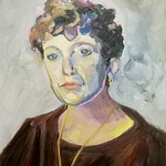 Annie Mac, oil on board. Created as part of the Sky Arts Portrait Artist of the Week competition.