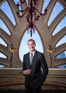 Kevin Kelley, chief operating officer, Macau, of Galaxy Entertainment Group (GEG), poses in Macau.