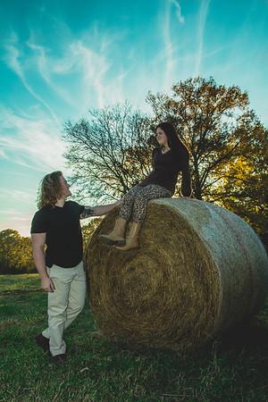 Alex and Haley fall photos