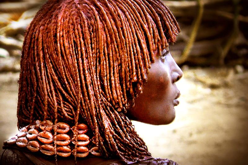 Mujer Hamer. Etiopia