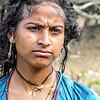 India, mujer de la comunidad Banjara .