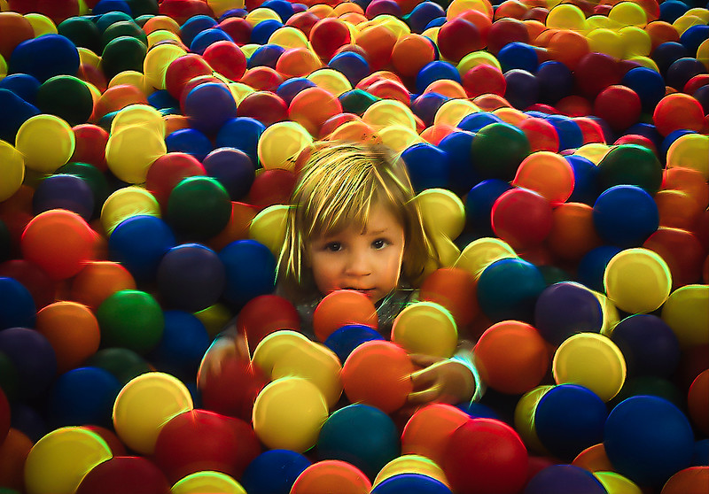 Baby in Ball Room