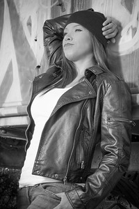 Mish in Leather