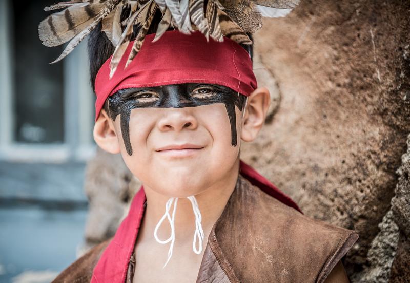 Yukva, Hopi Indian Portrait