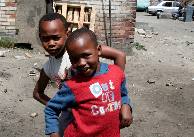 Township kids, Cape Town