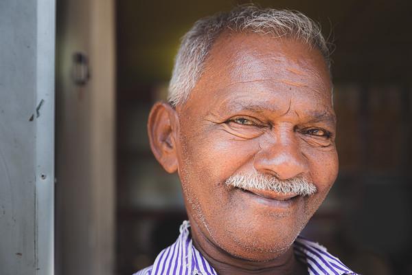 Smiling Sri Lankan Man