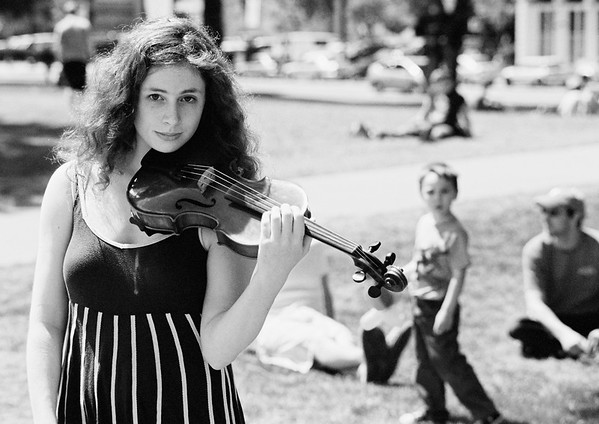 Young Violinist.