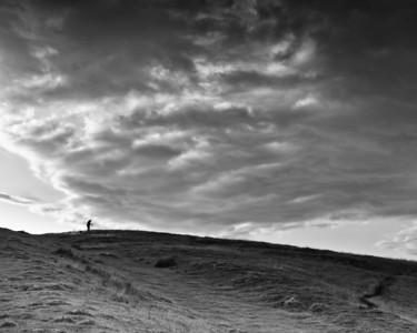 Steven Scott, photographer, Steel Rigg, Northumberland, July 2011
