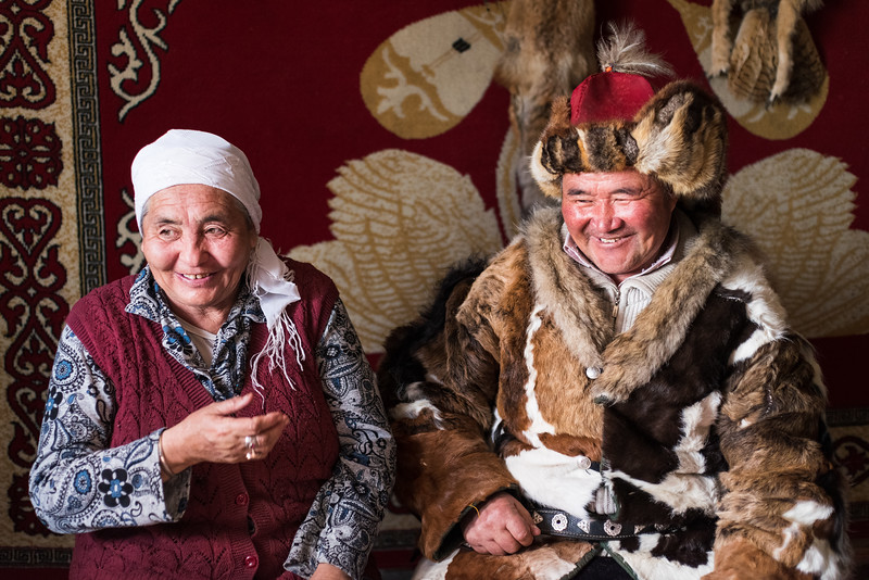 Eagle Hunter and His Wife