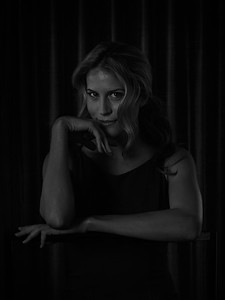 Andrea Feczko (American TV Host), at the lavish Thompson Beverly Hills Hotel, LA, USA. January 14, 2014. Photo: Edmond Terakopian