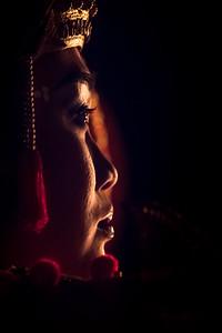 Portrait of Kecak Dancer