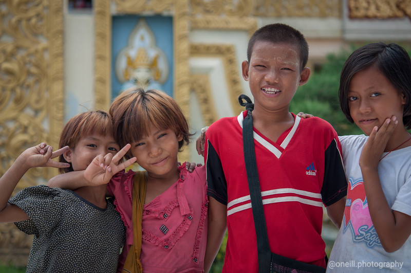 Kids of Bagan
