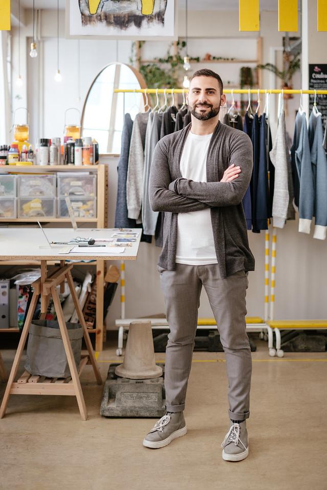 Eliran Ashraf - Fashion and textile designer Geneva