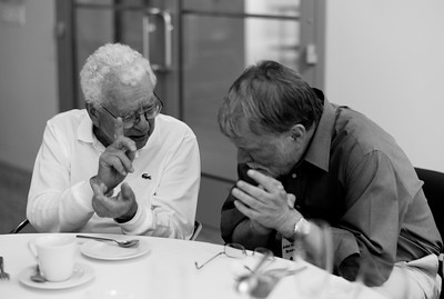 Murray Gell-Mann and John Seely Brown