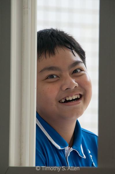 Shuili Elementary Student