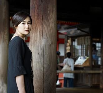 Mizuka at Kiomizu Temple