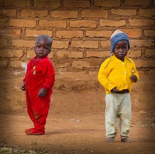 African Kids, People,