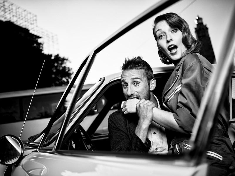 Matthias Schoenaerts & Cathy Immelen