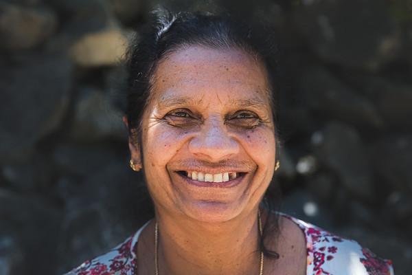 Smiling Sri Lankan Woman