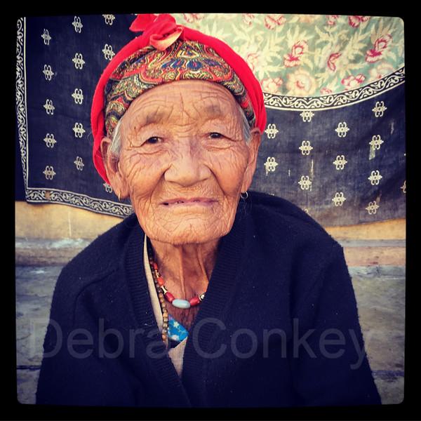 Tibetan woman, Jaipur, India