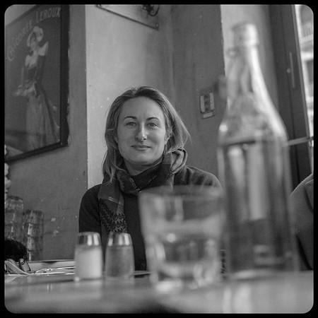Liz at Coffee