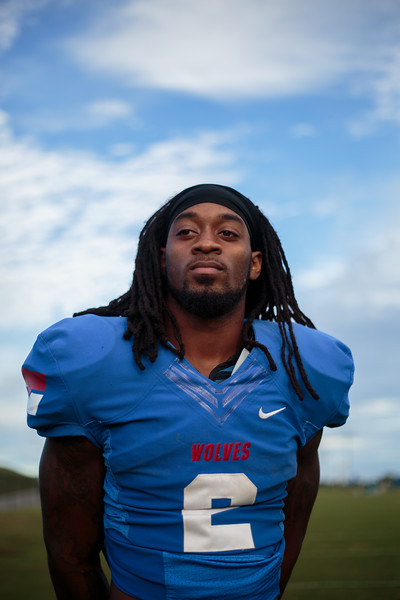 Nadav Soroker/Times-Georgian  UWG Senior running back Devontae Jackson broke the school's career rushing yards record, photographed on Wednesday, October 17, 2018.