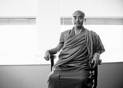 Yongey Mingyur Rinpoche, seventh reincarnation of Yongey Mingyur Dorje, Stanford 2002 [Link]