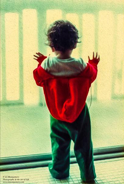 Pondering What is Beyond the Glass Door