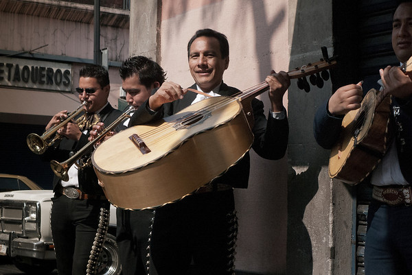 Mariachi band, Mexico City