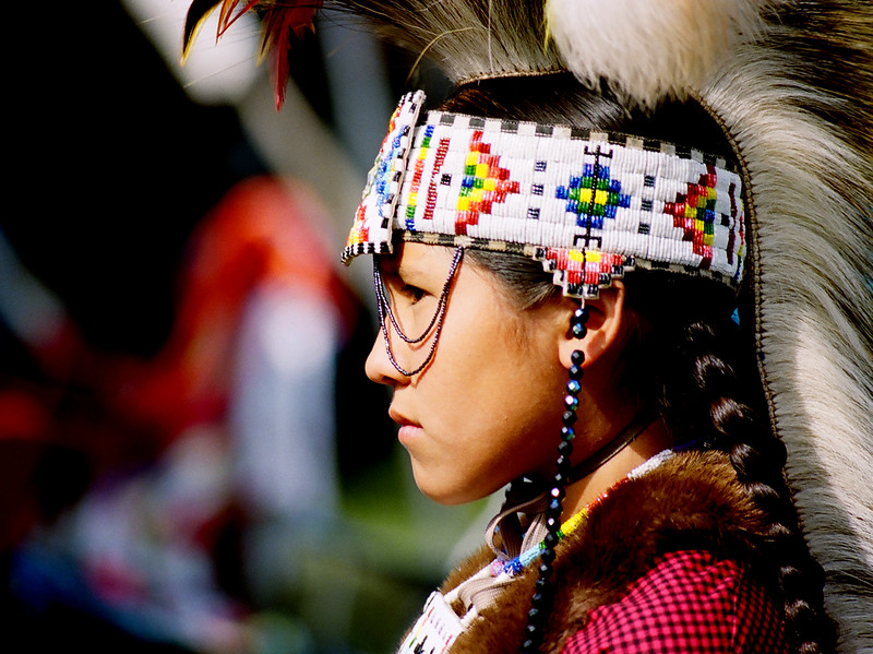 Native American Child Profile.