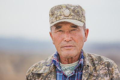 Park Ranger. Charyn Canyon National Park, Kazakhstan