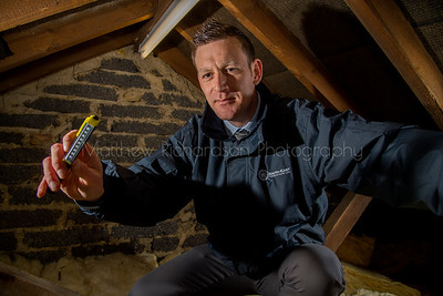 Loft inspection, work portrait