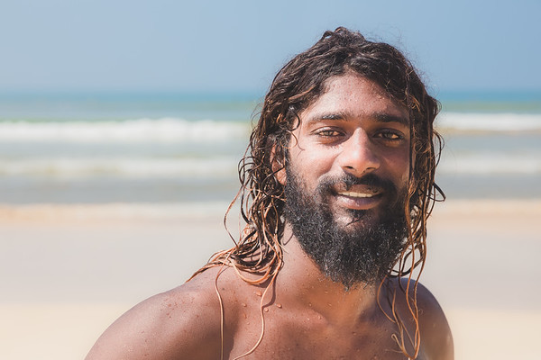 South Asian Surfer Dude