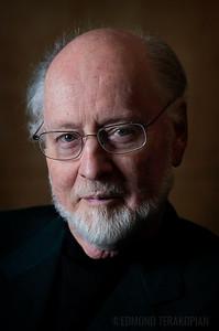 Composer John Williams at the Maple Room, Four Seasons Hotel, Park Lane, London. Photo: Edmond Terakopian