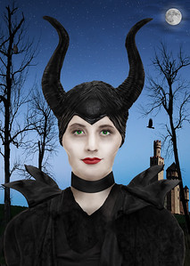 Abby as Maleficent