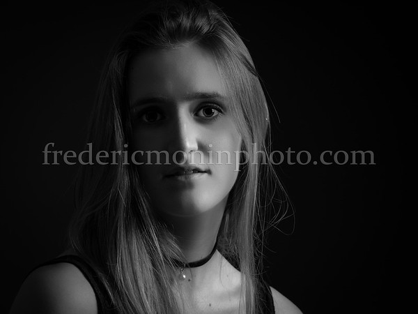 Shooting in the studio with Marion