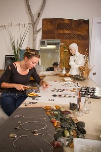 Rebecca Bashara, Jewelry Designer, Klickitat