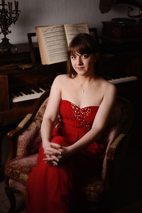 Anne Riegler, pianist. Germany