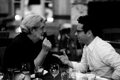 George Lucas and JJ Abrams - August 11, 2007