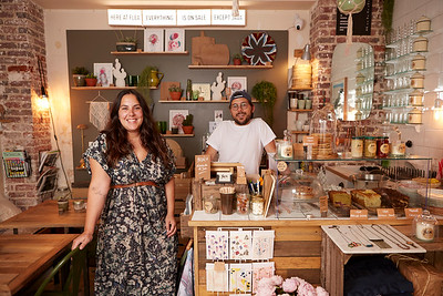 Léa & Tom, owners at Flea Saint-Ouen