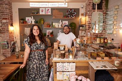 Léa & Tom, owners at Flea Saint-Ouen