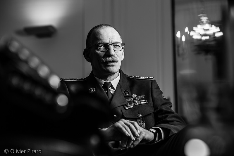 Marc Compernol, Chief of Defense of Belgium