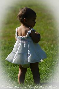 Little Girl in White